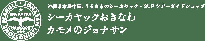 沖縄県本島中部、うるま市のシーカヤック・SUPツアーガイドショップ シーカヤックおきなわ カモメのジョナサン